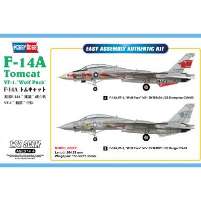 GRUMMAN F-14 A TOMCAT 1/72 - HobbyBoss 80279