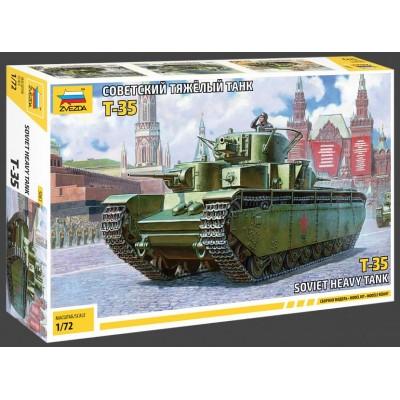 CARRO DE COMBATE T-35 1/72 - ZVEZDA 5061