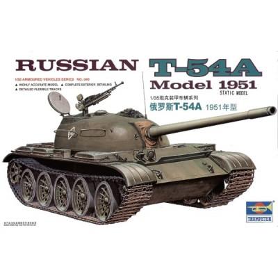 CARRO COMBATE T-54 A -Escala 1/35- Trumpeter 00340