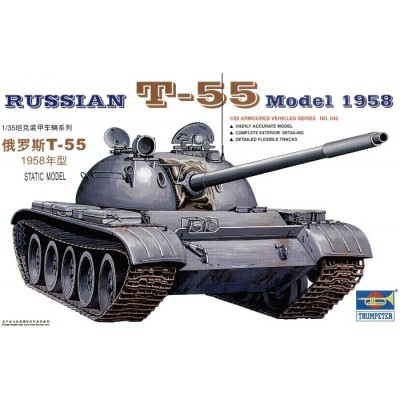 CARRO COMBATE T-55 1.958