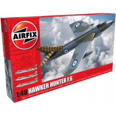 HAWKER HUNTER F.6 1/48 - Airfix A09185