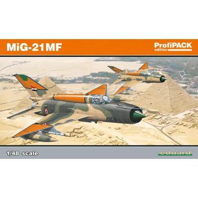 MIKOYAN GUREVICH MIG-21 MF PROFIPACK ESCALA 1/48 EDUARD 8231