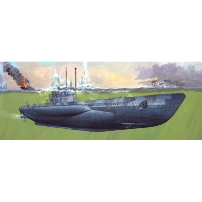 """SUBMARINO """"U-Boot"""" Type VII C / 41 1/72 - Revell 05163"""