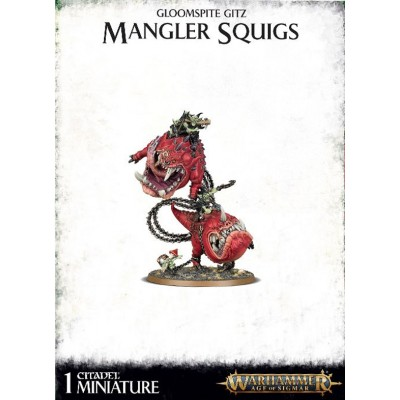 GLOOMSPITE GITZ MANGLER SQUIGS - GAMES WORKSHOP 89-46