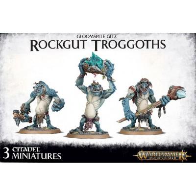 GLOOMSPITE GITZ ROCKGUT TROGGOTHS - GAMES WORKSHOP 89-33
