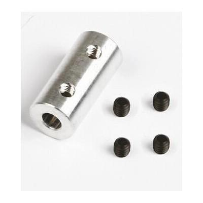 ACOPLAMIENTO ALUMINIO DE 5 mm A 4 mm - GRAUPNER SZ1018.11