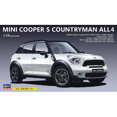 MINI COOPER S COUNTRYMAN ALL4 -1/24- Hasegawa CD21