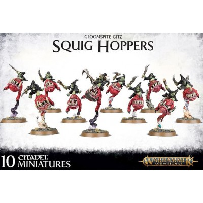GLOOMSPITE GITZ SQUIG HOPPERS - GAMES WORKSHOP 89-44
