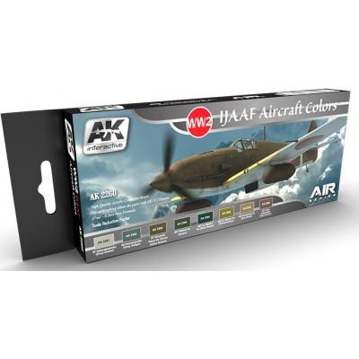 Set colores: IJAAN (Ejercito del Aire Japones) - AK Interactive 2260