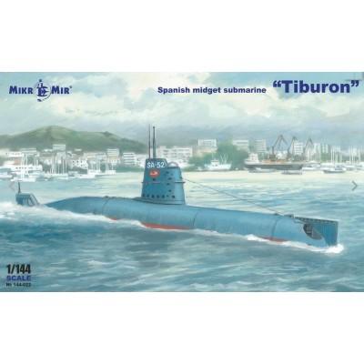 SUBMARINO TIBURON (España) -1/144- Micro Mir - AMP 144-022