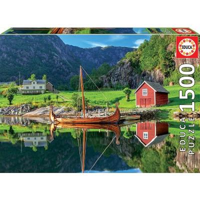 PUZZLE 1500 PZS BARCO VIKINGO - EDUCA 18006