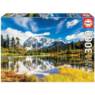 PUZZLE 3000 PZS MOUNT SHUKSAN USA - EDUCA 18011