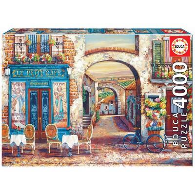 PUZZLE 4000 PZS LE PETIT CAFE - EDUCA 18014