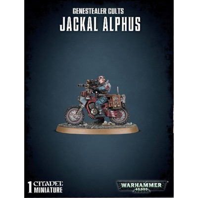 GENESTEALER CULTS JACKAL ALPHUS - GAMES WORKSHOP 51-63