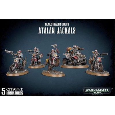 GENESTEALER CULTS ATALAN JACKAL - GAMES WORKSHOP 51-62
