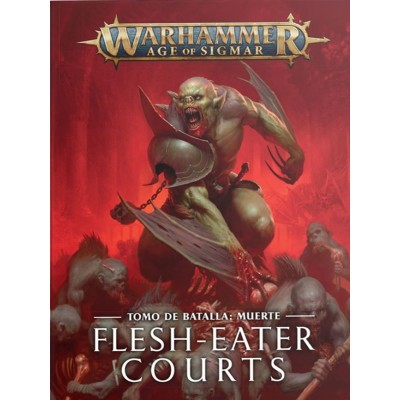 BATTLETOME FLESH-EATER COURTS en ESPAÑOL - GAMES WORKSHOP 91-29-03