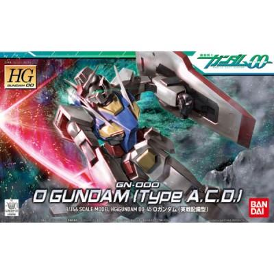 HG GN-000 GUNDAM TYPE A-C-D- ESCALA 1/144 - BANDAI 5055732