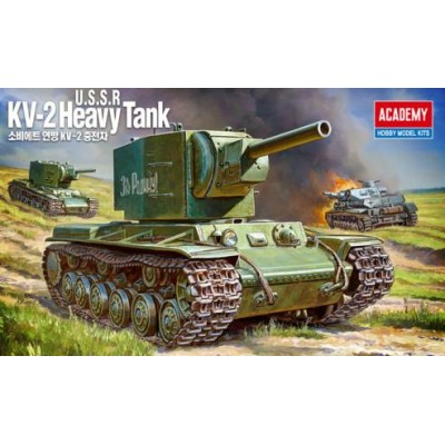 KV-2 HEAVY TANK - ESCALA 1/35 - ACADEMY 13506