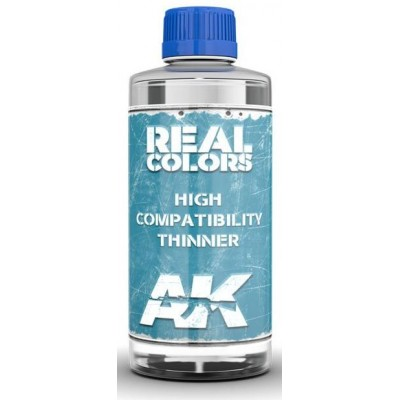 THINNER REAL COLORS (400 ml) - AK Interactive RC702