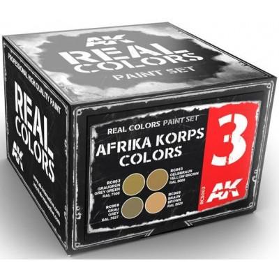 AFRIKA KORPS COLORS - AK Interactive RCS003