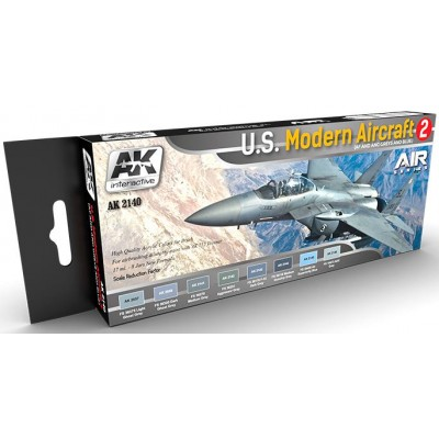 Air Series: U.S. MODERN AIRCRAFT 2 - AK Interactive AK2140