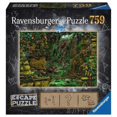 PUZZLE 759 PZS SCAPE EL TEMPLO - 70x50 CMS - RAVENSBURGER 19957
