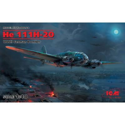 HEINKEL He-111 H-20 -1/48- ICM 48264