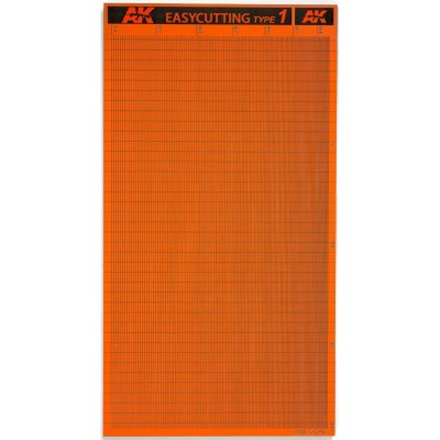 PLANCHA EASYCUTTING BOARD TYPE 1 (116x215x3mm) - AK 8056