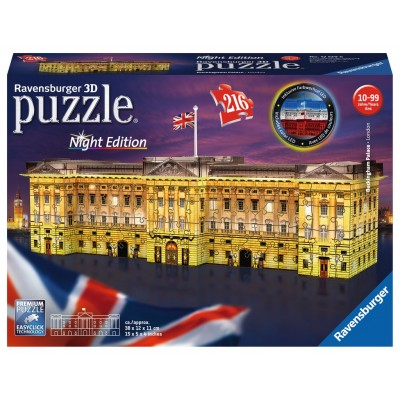 PUZZLE 3D 216 pzas PALACION DE BUCKINGHAM - RAVENSBURGER 12529