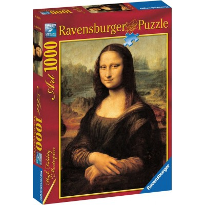 PUZZLE 1000 PZS LA GIOCONDA LEONARDO DA VINCI - RAVENSBURGER 15296
