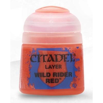 PINTURA ACRILICA LAYER WILD RIDER RED (12 ml)
