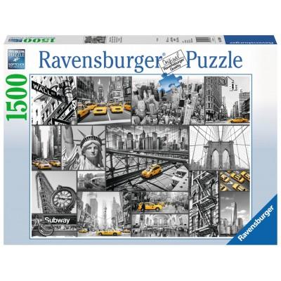 PUZZLE 1500 PZS COLOR EN NUEVA YORK - RAVENSBURGER 16354