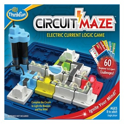 CIRCUIT MAZE - ELECTRIC LOGIC GAME - THINKFUN 76341