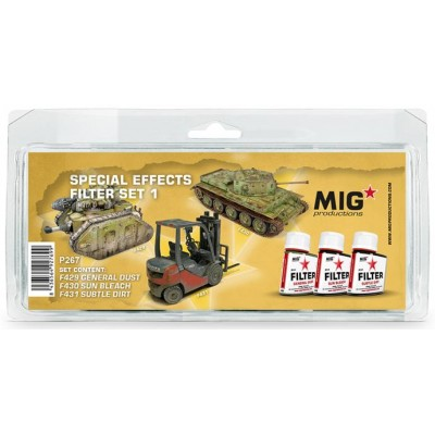 SPECIAL EFFECTS FILTER SET 1 - MIG Productions P267