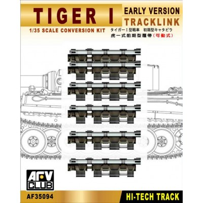 SET ORUGA CARRO TIGER I (EARLY)