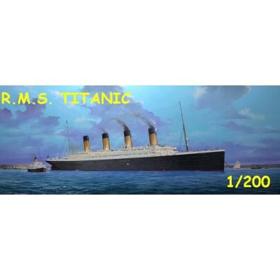 TRANSATLANTICO R.M.S. TITANIC 1/200 - Trumpeter 03713
