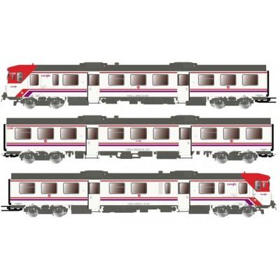AUTOMOTOR DIESEL 592 RENFE - Cercanias Epoca V-VI - Electrotren E3420