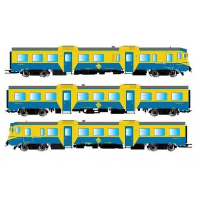 AUTOMOTOR DIESEL 592 RENFE (Azul / Amarillo) - Cercanias Epoca IV-V - Electrotren E3421