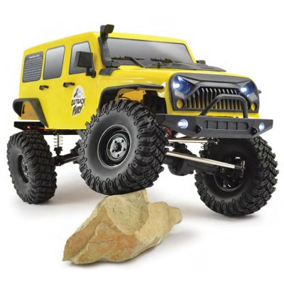 COCHE TRAIL CRAWLER RC 1/10 OUTBACK FURY 4X4 RTR