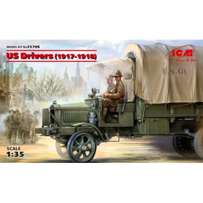 CONDUCTORES U.S. ARMY (1917-1918) -1/35- ICM 35706