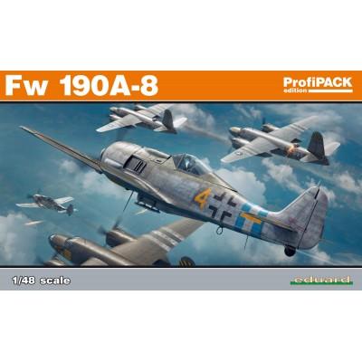 FOCKER WULF Fw-190 A-8 -1/48- Eduard 82147