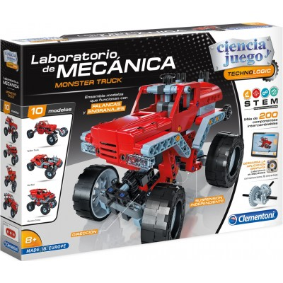 LABORATORIO DE MECANICA MONSTER TRUCK - CLEMENTONI 55277