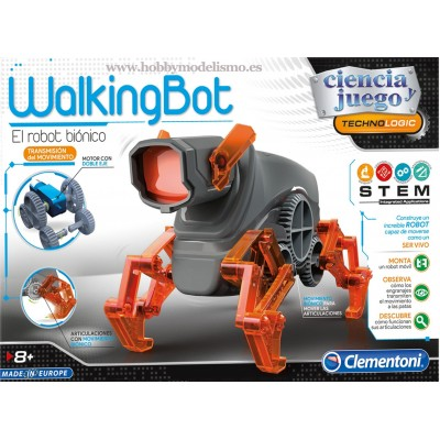 WALKING ROBOT - CLEMENTONI 55289
