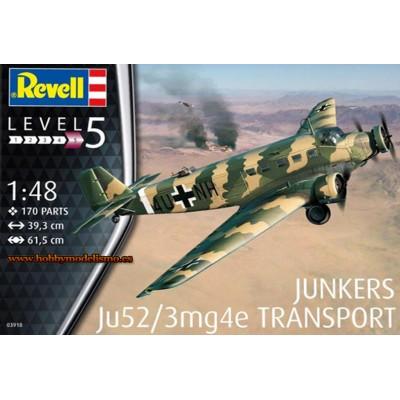 JUNKERS JU-52/3mg4e -1/48- Revell 03918
