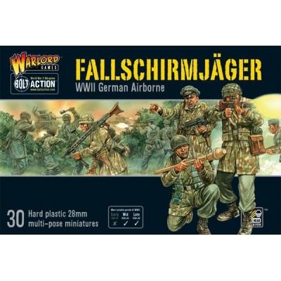 FALLSCHIRMJAGER ALEMANES (30 Figuras) -1/56- Warlord Games WGB-FJ-02