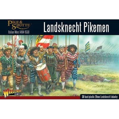 PIQUEROS LANDSKNECHT (30 Figuras) -1/56- Warlord Games 202016001