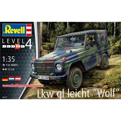 VEHICULO TODOTERRENO WOLF -1/35- Revell 03277