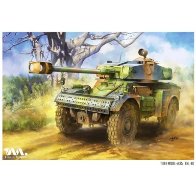 VEHICULO BLINDADO AML-90 -1/35- Tiger Model 4635