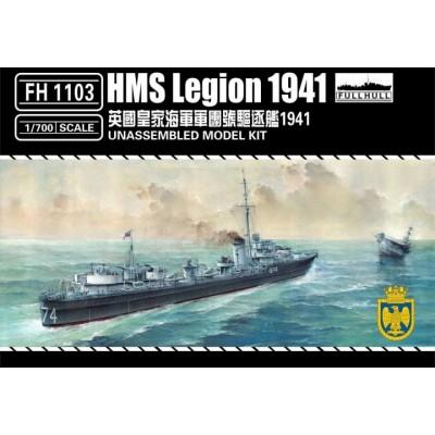 DESTRUCTOR H.M.S. LEGION -Escala 1/700- FlyHawk FH 1103