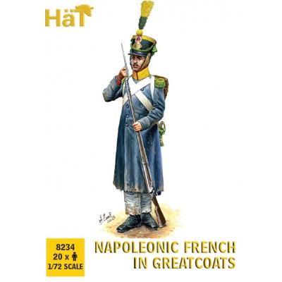 INFANTERIA FRANCESA CON ABRIGO (20 Soldados) -1/72- Hat 8234